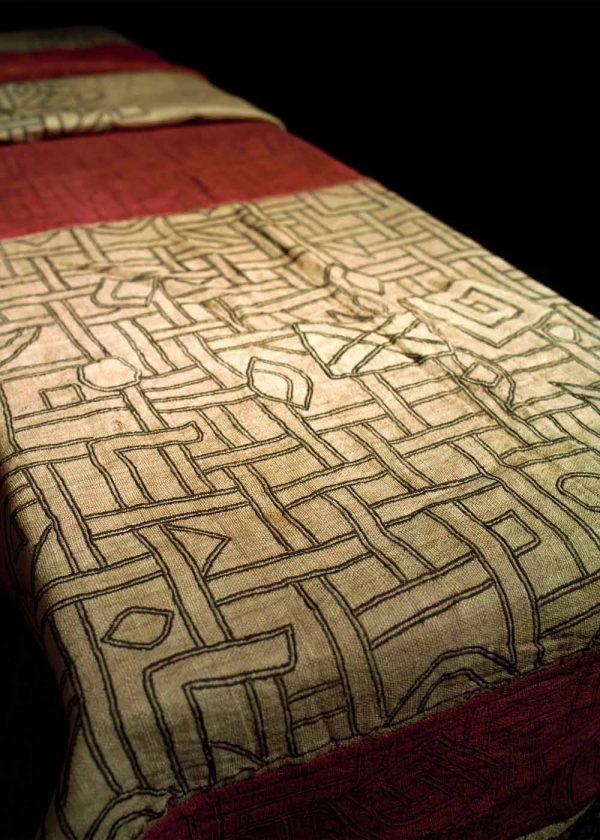 Congo Kuba Cloth Antique Brodee