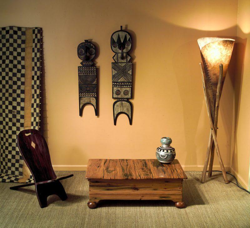African Wall Art│Unique Masks 114