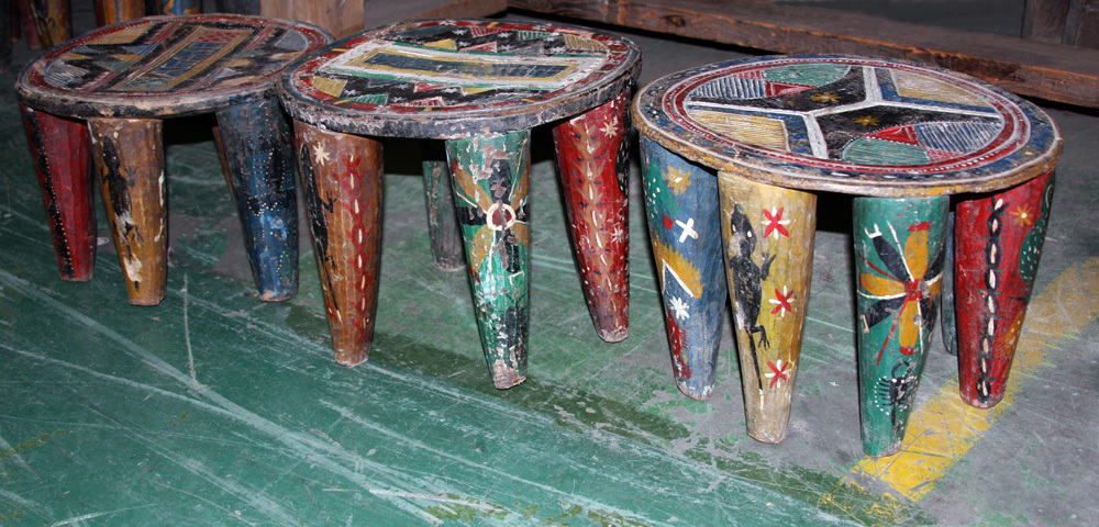African Decor, Nupe Stools