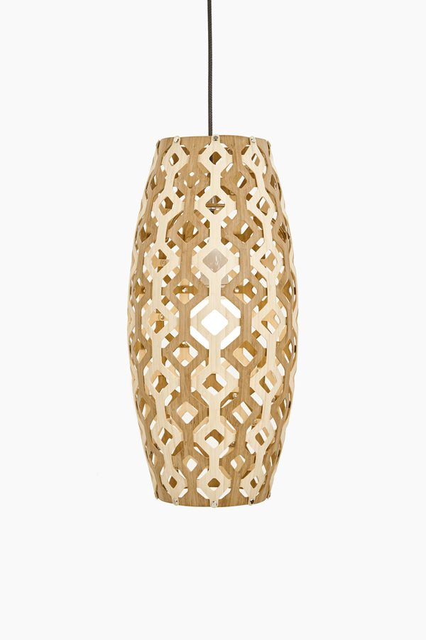 Wood & Bamboo Pendant Lights 171