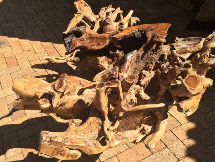 African Fruntiure│Tree Root Base