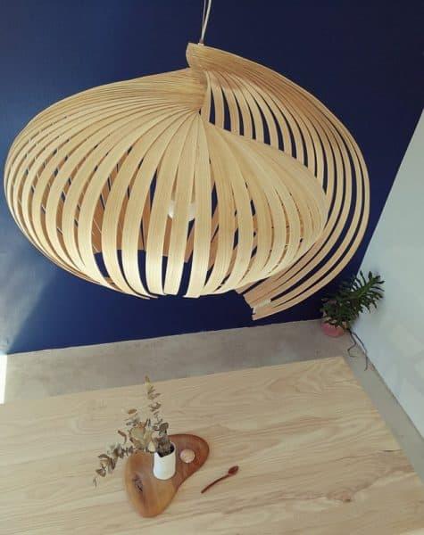 Lighting and fixtures│Contemporary wooden lighting