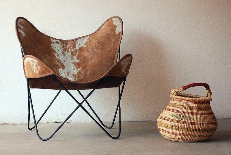 African Mid-Century Modern Chair 25