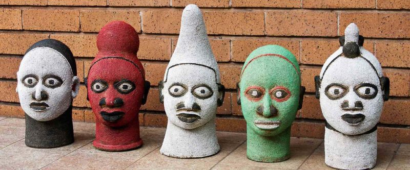 African Wall Art│Unique Masks 113