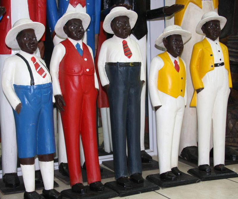 African Decor│Colonial Wood Figures 12