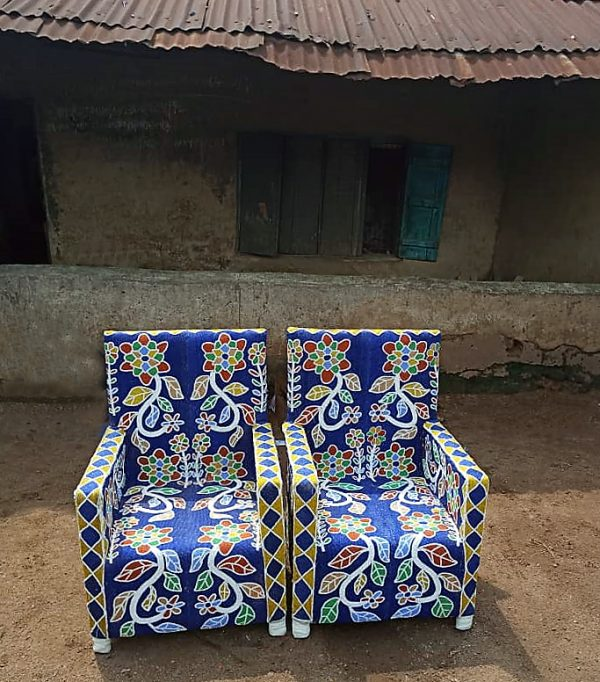 African Beaded Chairs & Decor 48