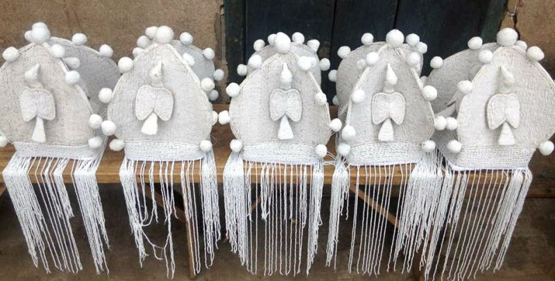 African Beaded Chairs & Decor 42