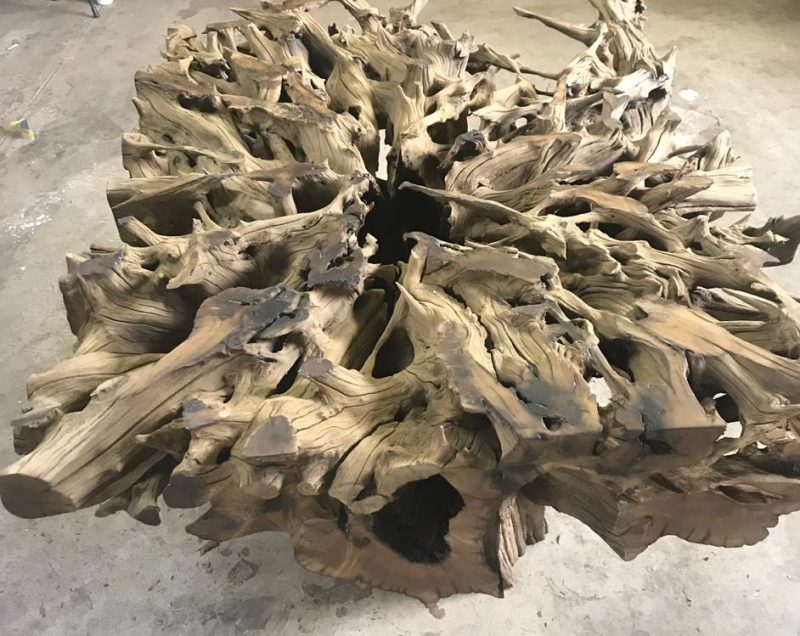 Hardwood Tree Root Table Bases 77