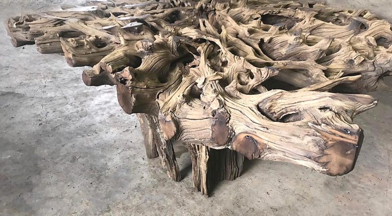 Dining or Entrance table Tree Root 700H x 1000 x 1300mm