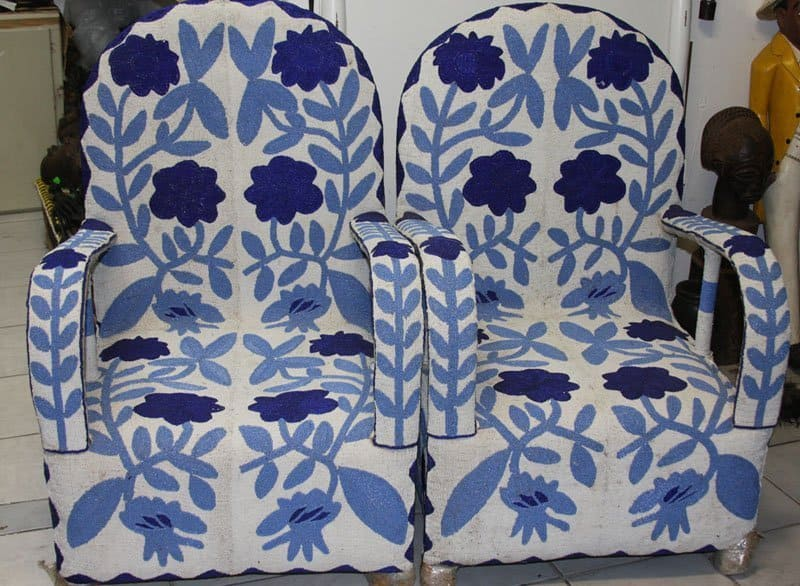 African Beaded Chairs & Decor 41